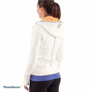 Lululemon Uba Hoodie Reflective Polar Cream Jacket